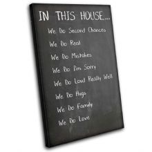 Family House Rules Typography - 13-2381(00B)-SG32-PO